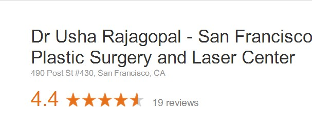 Dr. Usha Rajagopal Reviews on Google